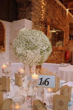 Wedding Flowers, Table Decorations, Furniture, Home Decor, Homemade Home Decor, Home Furnishings, Interior Design, Home Interiors, Decoration Home