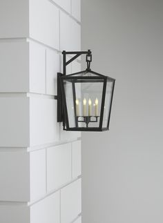 Darlana Medium Outdoor Bracket Lantern By E F Chapman Cho2085 Bronze Finish Porch Lighting
