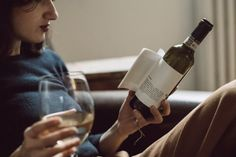 reverse innovation. matteo correggia. An Italian winery paired up with a product design agency to create wine that comes with short stories