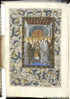 Book of Hours, MS M.854 fol. 217v - Images from Medieval and Renaissance Manuscripts - The Morgan Library & Museum