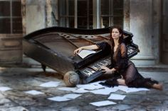 The piano by mallena 2015 © Magdalena Pietrzak