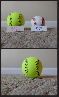 Our gender reveal photo-absolutely love this idea