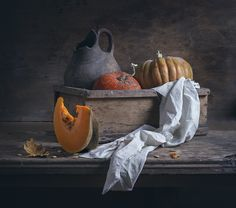 https://flic.kr/p/Z8UtNE | Still life with pumpkins