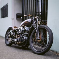 Harley-Davidson Bobber #motorcycles #bobber #motos | caferacerpasion.com