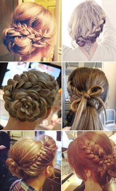 Beautiful Hairstyles. Find the tutorials here.