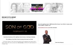 """Thank you City Girl Magazine for this article.   Pastor Keion Henderson and The LightHouse Church Introduce a New Way of Fellowship.(The LightHouse Church Held a Private Screening of the movie Son of God)  """"What better way to bring people together with something that they love to do, which is go to the movies with getting the message I've been preaching,"""" said Pastor Keion.  To view the whole article please visit : http://citygirlmagazine.com/new-way-of-fellowship/"""