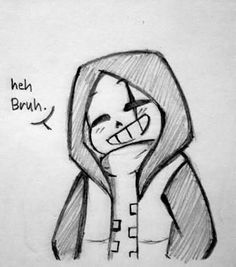 Read 41 from the story Undertale by CatherCat with reads. Creepy Drawings, Anime Drawings Sketches, Dark Art Drawings, Pencil Art Drawings, Easy Drawings, Undertale Cute, Undertale Fanart, Undertale Comic, Undertale Drawings