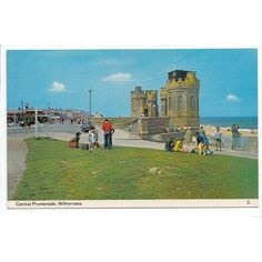 Central Promenade Withernsea Postcard Yorkshire 2 Listing in the Yorkshire,England,Topographical,Postcards,Collectables Category on eBid United Kingdom | 145369360