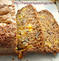 Home Made Mango Bread Recipe