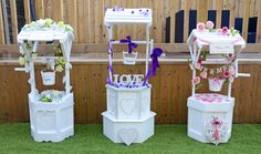 Wishing Well Wedding Bird Cage Post Box Sweet Candy Cart Hire Giant Garden