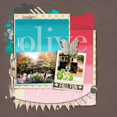 Scrapbooking Ideas for Unexpected Colors on Autumn Pages | Carrie Arick | Get It Scrapped
