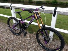 Nice Mondraker Summum PT! Full dh bike, maybe one day