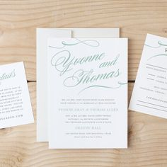 Wedding invitation template, Printable wedding invitation, Aqua Script Elegance, Word or Pages, 100% Editable, INSTANT DOWNLOAD