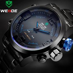 It doesn't get any better than this!   Top Luxury Brand ...   http://www.zxeus.com/products/top-luxury-brand-weide-men-full-steel-watches-mens-quartz-analog-led-clock-man-fashion-sports-army-military-wrist-watch?utm_campaign=social_autopilot&utm_source=pin&utm_medium=pin