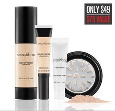Smashbox Complexion Perfection kit-this is my all time favorite beauty kit. Definitely a must have!