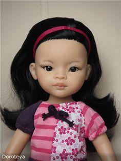 Небольшое преображение-Лиу от Паола Рейна (Paola Reina) / Paola Reina, Antonio Juan и другие испанские куклы / Бэйбики. Куклы фото. Одежда для кукол