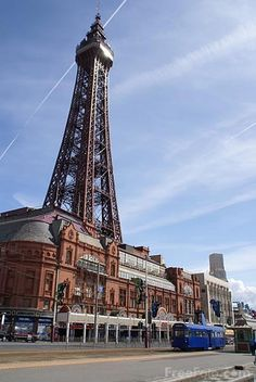 The Tower  Blackpool, Lancashire, England ~ note the trams :)