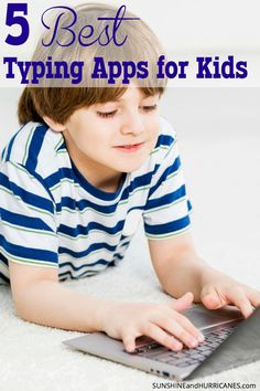It's never too early to teach kids to type and you'll be amazed at what's available, including apps, to help your kids master this skill! Even a phone can be used to teach this necessary technique and give your child an advantage in technology. Learn How to Type – 5 Best Typing Apps