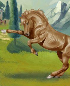 Musztáng csődör Horses, Painting, Fictional Characters, Art, Art Background, Painting Art, Kunst, Paintings, Performing Arts