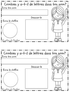 Printing and speaking sample sample activities for first few days of school. Keep in portfolio and record spoken sample to compare later. French Teaching Resources, Teaching French, Teacher Resources, Kindergarten Language Arts, Kindergarten Centers, Grade 1 Reading, Reading Buddies, French For Beginners, First Day Of School Activities