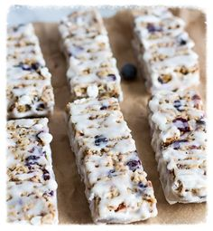 I love to make my own granola bars, I know what is going into them, no preservatives, just healthy ingredients. These is moist, chewy, a...