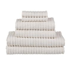 glo Fairtrade and Organic Stripe Natural Bath Towel Set Set includes: 2 bath towels, 2 hand towels and 2 washcloths GOTS certified organic cotton Fairtrade certified Horizontal stripe pattern 550 GSM Natural Bath Towels, Matching Bedding And Curtains, Striped Towels, Organic Baby Clothes, Bath Linens, Bath Towel Sets, Cotton Towels, Hand Towels, Bath Accessories