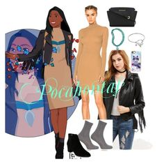 """Pocahontas inspired"" by n3rdwithcl4ss on Polyvore featuring adidas, John Lewis, Franco Sarto, The Bradford Exchange, MICHAEL Michael Kors and Casetify"