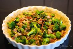 Broccoli, Bacon, Lunch, Vegetables, Food, Eat Lunch, Essen, Vegetable Recipes, Meals
