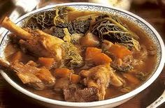 Yummy food recipes have target the world yummy food. You will find the yummy food recipes for different countries and cultures. Gourmet Recipes, New Recipes, Traditional French Recipes, Cassoulet, French Food, Quick Meals, Soups And Stews, Pot Roast, Soul Food