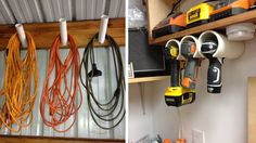 Storage organization takes time and effort, but you can create a beautiful look and convenient storage in your garage for everything, starting from sports equipment to all your tools