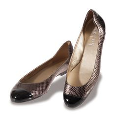 Ginger in Pewter by French Sole