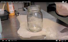 Best Friends Jar Craft Tutorial