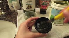 DIY Scrub Mask Using Wheat-grass