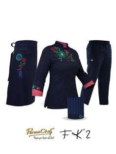 Europa Hotel Uniform, Restaurant Uniforms, Asian Restaurants, Uniform Design, Scrubs, Chef Jackets, Style Me, Swimwear, How To Wear