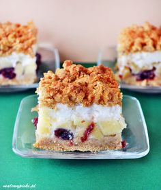 The best apple pie. The best apple pie a lot of apples with cranberries meringue and gluten free dough. (in Polish and English) Cranberry Cake, Best Apple Pie, Fruit Cobbler, Dessert Recipes, Desserts, Cranberries, Meringue, Gluten Free Recipes, Apples