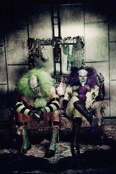 evil clowns, tremmors and flinch I believe