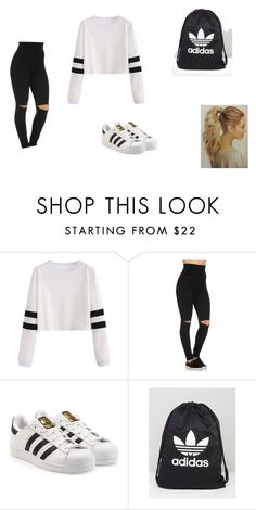 """Untitled 18"" by lennis-rodriguez8102 on Polyvore featuring adidas"