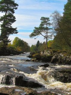 The Falls of Dochart - Killin, Scotland