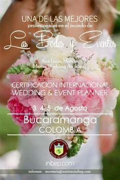 Agenda Academica Internacional Instituto Wedding & Event Planner www.inibep.com
