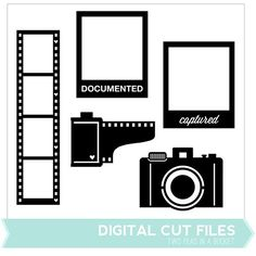 Film Digital Cut Files  - Available in May 2013 only - Two Peas in a Bucket