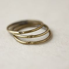 pick your numbers, stack your rings. i loooove numbers...and stacking rings! these rock.