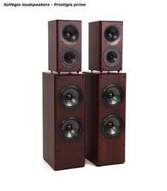 Solfegio loudspeakers stĺpové 2 - hifi a highend - Best Loudspeakers, Knife Block, Good Things