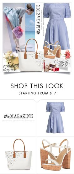 """Line Dress"" by creativity30 ❤ liked on Polyvore featuring Marc Jacobs, MICHAEL Michael Kors and Josie Maran"