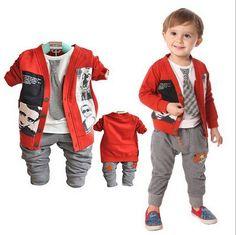 boys fashion cardigan.