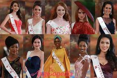 Miss World 2015 Top 30 Model Finalists and Top 10 Designer Dresses Revealed