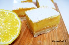 Citrus Slice in the Thermomix. Cooking Chef, Cooking Recipes, Cooking Stuff, Lemon Pie Bars, Lemon Slice, Citrus Recipes, Thermomix Desserts, Sweets Cake, Cake Recipes