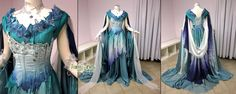 Fantasy dress A Better World - Ice Goddess by *Lillyxandra on deviantART