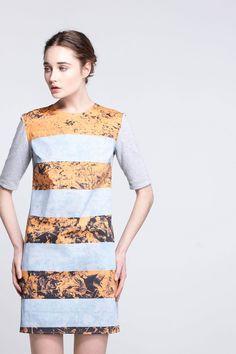 Photopetal Tee Dress