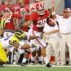 Dee Milliner (28) named Walter Camp Defensive Player of the Week after Bama win over Michigan 41-14