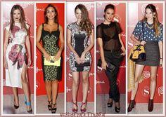 Celebs en la fiesta Peru Moda organizada por  la revista SModa en Madrid